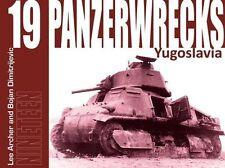 Panzerwrecks 19 carri armati relitti distruggere carri armati libro immagine nastro serbatoi Yugoslavia