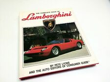 The Complete Book of Lamborghini by Consumers Guide ©1988 Hardcover Book