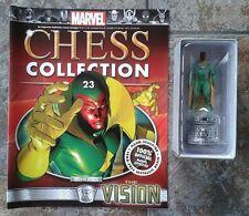 Marvel Chess Collection #23 la vision tour blanche résine figure & magazine