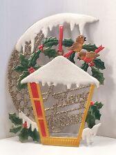 Merry Christmas improntato Dresdner CARTONE