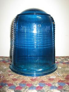 Vintage BLUE Airport RUNWAY Light MINT CONDITION Made in U.S.A.
