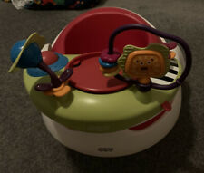 Mamas & Papas Baby Snug Seat Chair with Play Tray - Red