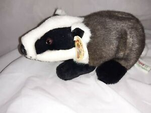 *Used Soft Toy Badger plush by Ark toys*