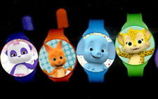 Word Animals-  8 Toy Watches -Party Favors Kids Watch Birthday Supplies Pinata