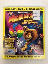 Madagascar 3: Europe's Most Wanted, 2 Disc Digital Copy [BluRay/DVD/Digital] FS