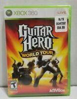 Guitar Hero: World Tour Microsoft Xbox 360, 2008 Factory Sealed Authentic New