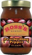 Ross's Robust Peachy-King Pepper Gourmet Salsa