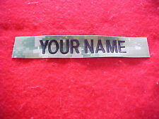 US Navy Type III Green Digital - custom made Nametape for blouse or trousers