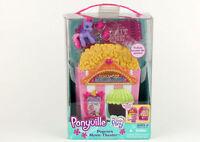 My Little Pony Ponyville Popcorn Movie Theater Playset - New