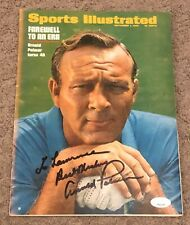 ARNOLD PALMER 1969 SIGNED AUTOGRAPHED SPORTS ILLUSTRATED MAGAZINE JSA CERTIFIED