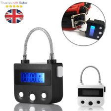 UK Multipurpose Time Lock For Ankle Handcuffs Mouth-Gag Electronic Timer C071