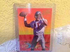 NEW ENGLAND PATRIOTS DREW BLEDSOE 1993 FLEER ULTRA ROOKIE FOOTBALL CARD # 3 NFL