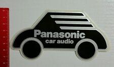 Pegatina/sticker: Panasonic car audio (290316120)