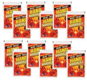 12 Sets Grabber Heat Treat 7hr HAND WARMER Gloves Boots Pocket Instant Heat HWES