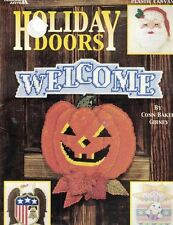 Holiday Door Hangers for all Holidays Christmas Halloween Leisure Arts 1634