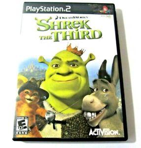 PlayStation 2 Shrek The Third DreamWorks Video Game