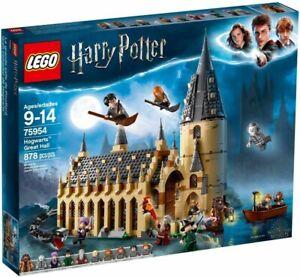 Lego Harry Potter 75954 Wizarding World Hogwarts Great Hall 878 PCS NEW