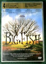 Big Fish Dvd Tim Burton Brand New Factory Sealed Widescreen