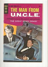 The Man from U.N.C.L.E. #14 (Sept 1967)  Fine 6.0   photo cover