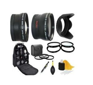Accessory Kit (Lens-Filters-Bkpack) For Sony Alpha A6300 A6500 with 16-70mm Lens