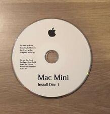 Apple Mac mini OS X Server 10.6 Macmini3,1 Install Discs Snow Leopard (v6520)