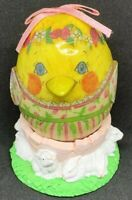 Vintage Easter Egg Decoration Chick Egg Spring Duck