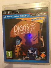 PAL BOXED SONY PLAYSTATION 3 PS3 GAME DIGGS NIGHTCRAWLER needs move & wonderbook