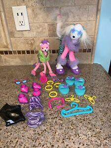 Mattel 2001 Barbie pose me pets Cat DOG ACCESSORIES SHOES Clothes #0015