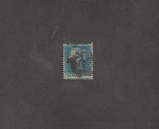 UK GREAT BRITAIN 1841 VICTORIA 2P BLUE USED SG # 34
