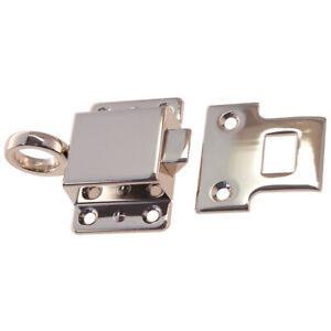 B & M Hardware 8806 Window Transom Latch Self-Closing Latch Strike Plate Brass