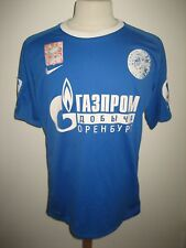 Gazovik Orenburg MATCH WORN away Russia football shirt soccer jersey size L