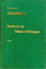 SIZILIANISCH HANDBUCH DER SCHACH-EROFFNUNGEN SCHWARZ  TEDESCO SCACCHI (TA666)