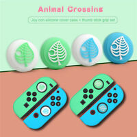 Animal Crossing Slim Silicone Cover For Nintendo Switch w/ Leaf Caps
