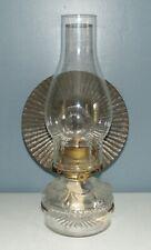 ANTIQUE Wall Mount EAGLE REFLECTOR OIL LAMP Lot J