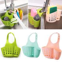 Hanging drain bag basket bath PVC storage gadget tools kitchen sink organ ffvv