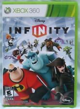 * Microsoft Xbox 360 Disney Infinity 1.0 Game Disc, Cover Art, and Case   👾