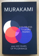 Haruki Murakami,Colorless Tsukuru Tazaki and His Years of Pilgrimage 1/1 BLACK