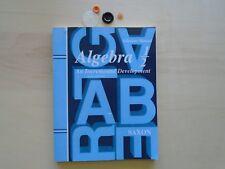 Saxon Algebra 1/2: Algebra 1-2 SOLUTION MANUAL homeschooling MATH teacher 8-9gr