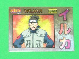 2002 Panini Naruto Ninja RANKS NINJA SENSEI Chase insert Card #NS5 IRUKA!