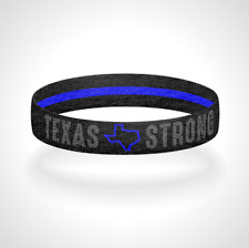 Pick Your State - Reversible Blackout Thin Blue Line Bracelet Wristband