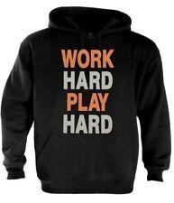 Work Hard Play Hard Hoodie WIZ Taylor Party GYM Workout DJ Diamond Gang Dope