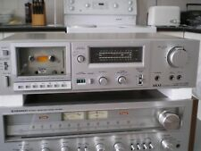 Vintage Akai Silver face Stereo Cassette Deck GXF-25, for repair
