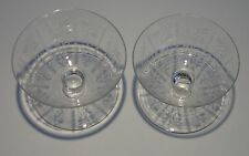 2 COUPES A CHAMPAGNE CRISTAL  BACCARAT
