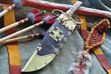 """-IRON MEDICINE BLADES- CUSTOM FORGED 14"""" FIGHTING HUNTING BOWIE KNIFE"""