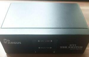 ARGUS Inter-Tech KVM Switch AS-21DA DVI USB (2-Port)