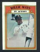 1972 Topps #50 Willie Mays EXMT/EXMT+ Giants IA 115398