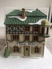Dept 56 Alpine Village E Staubr Backer Bakery 65404 Christmas Building Shop Iob