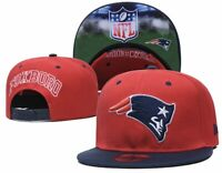 Red NFL New England Patriots Logo Snapback Cap Hat Adjustable