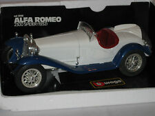 BURAGO 3008 1/18 ALFA ROMEO SPIDER 2300  1932 - EXCELLENT  BOXED CONDITION