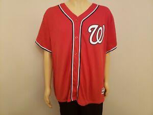 WASHINGTON NATIONALS Bryce Harper MLB Majestic Stitched Baseball Jersey WOMEN 3X